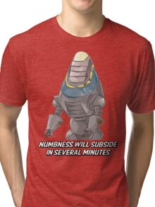 Fisto - Numbness Will Subside In Several Minutes Tri-blend T-Shirt