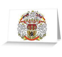 Coat of Arms of Prague Greeting Card