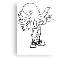 Kid Cthulhu! Canvas Print