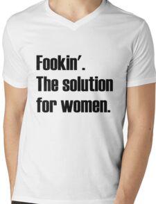 The Solution for Women - CAH 1 Mens V-Neck T-Shirt