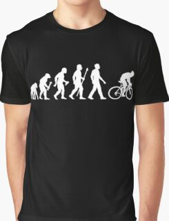Evolution Of Man Cycling Graphic T-Shirt