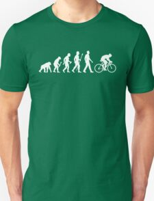 Evolution Of Man Cycling Unisex T-Shirt