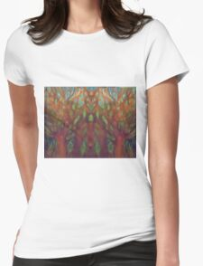 TREE DESIGN  Womens Fitted T-Shirt