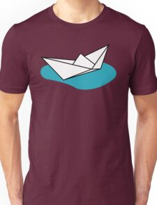 Origami Boat Unisex T-Shirt