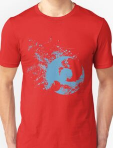 Pokemon Moon Logo - Spray Unisex T-Shirt