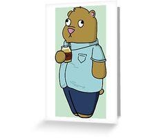 Ralph the Bear Greeting Card