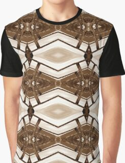 Wood and Lights Sepia Graphic T-Shirt