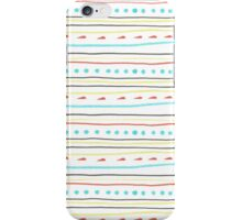 playful stripes iPhone Case/Skin