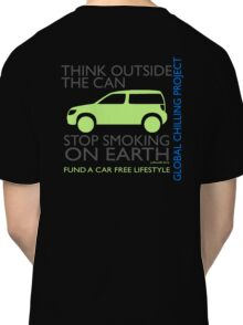 stop smoking on earth Classic T-Shirt