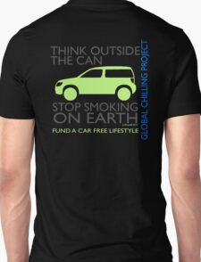 stop smoking on earth Unisex T-Shirt