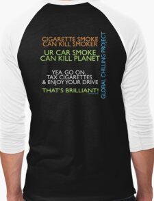 Human Greed or Greedy Humans Men's Baseball ¾ T-Shirt