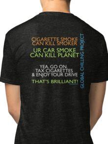 Human Greed or Greedy Humans Tri-blend T-Shirt