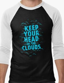 Keep Your Head In The Clouds Men's Baseball ¾ T-Shirt