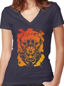 King of The Gerudo Women's Fitted V-Neck T-Shirt
