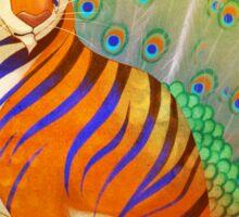 Peacock Tiger Sticker
