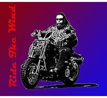 Ride The Wind Red/Blue Photographic Print