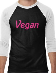 Vegan Wear Men's Baseball ¾ T-Shirt