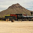 Old Tucson Scene by Larry Costales