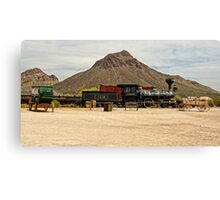 Old Tucson Scene Canvas Print