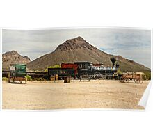 Old Tucson Scene Poster