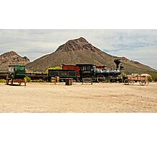 Old Tucson Scene Photographic Print