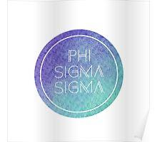 Phi Sigma Sigma Poster