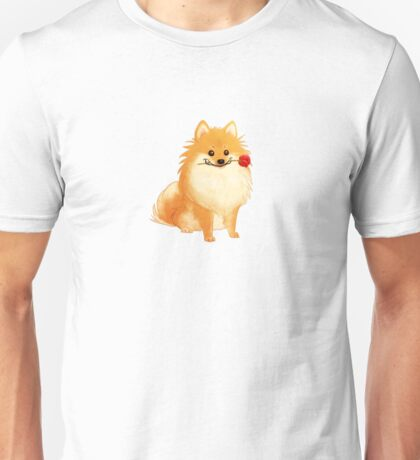 Charming Pomeranian Unisex T-Shirt
