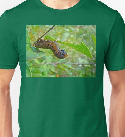 Snowberry Clearwing Hawk Moth Caterpillar - Hemaris diffinis Unisex T-Shirt