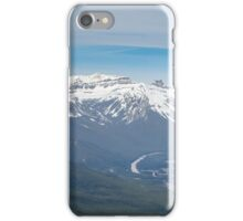 Bow Valley from Suphur Mountain iPhone Case/Skin