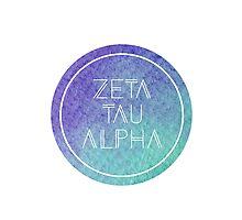 Zeta Tau Alpha Photographic Print