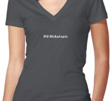 DCMihatepie Pride Shirt Women's Fitted V-Neck T-Shirt