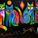 Abstract Cats ( HBAS demo ) by Karin Zeller