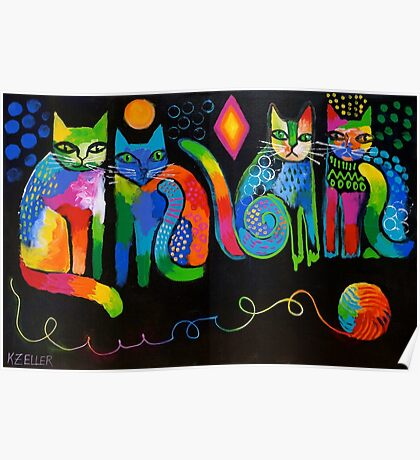 Abstract Cats ( HBAS demo ) Poster