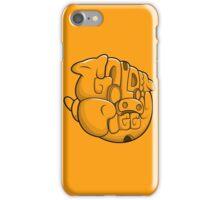 Golden Piggy Typeface iPhone Case/Skin