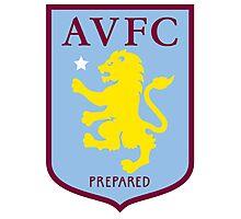 Aston Villa FC Badge - FL Championship Photographic Print