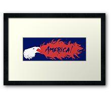 American Fire Eagle! Framed Print