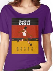 Maurice Rioli - South Fremantle Women's Relaxed Fit T-Shirt