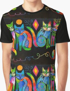 Abstract Cats ( HBAS demo ) Graphic T-Shirt