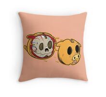 LAYER PIGGY Throw Pillow