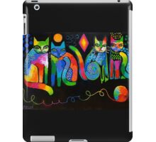 Abstract Cats ( HBAS demo ) iPad Case/Skin