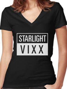 starlight vixx Women's Fitted V-Neck T-Shirt