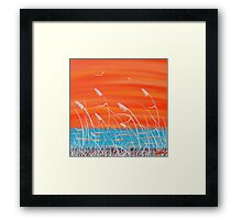 """Ocean Breeze"" Framed Print"