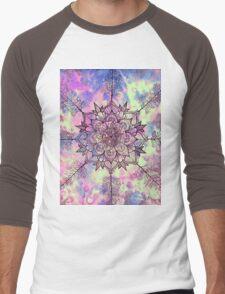 Galaxy Tree Mandala Men's Baseball ¾ T-Shirt