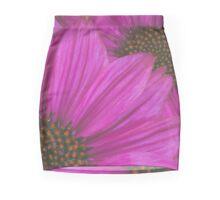 Purple Echinacea Flower Mini Skirt