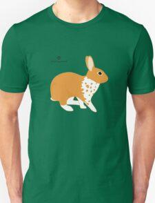 Blanket Brocken Rabbit, Orange T-Shirt