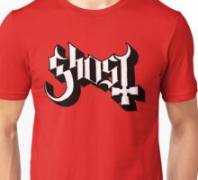 Ghost Band Title Logo Unisex T-Shirt