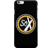 sox chance the rapper iPhone Case/Skin