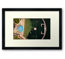 Eastern Beach Swimming in Geelong Framed Print