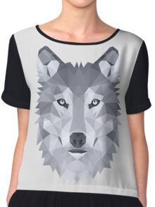 LEADER OF THE PACK Women's Chiffon Top