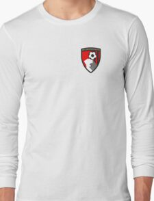 AFC Bournemouth Badge - BPL Long Sleeve T-Shirt